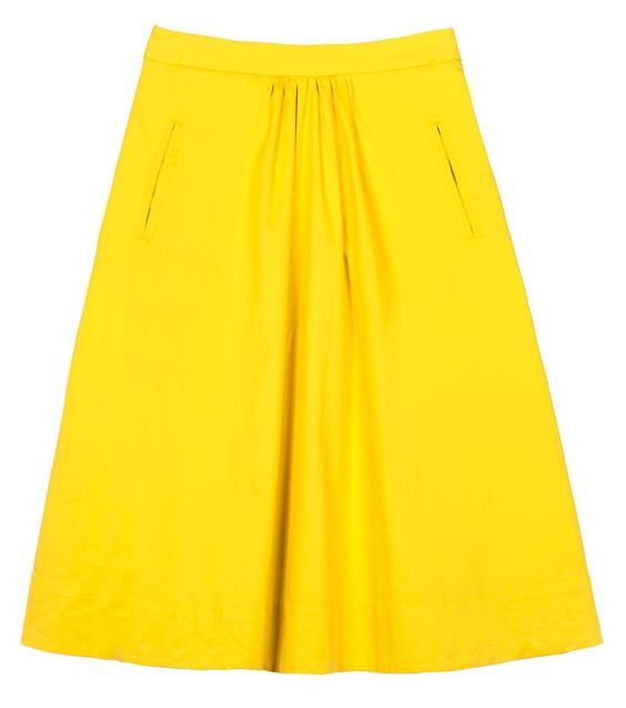 gorman yellow skirt